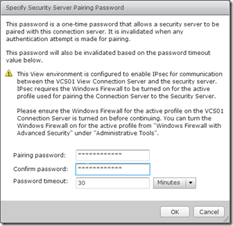 4. Password Screen