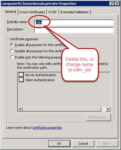Horizon 7 0 Part 5–SSL Certificates | The Virtual Horizon