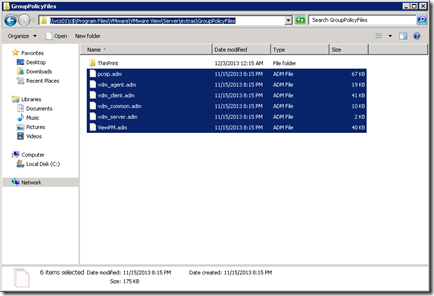 Group Policy Files Location