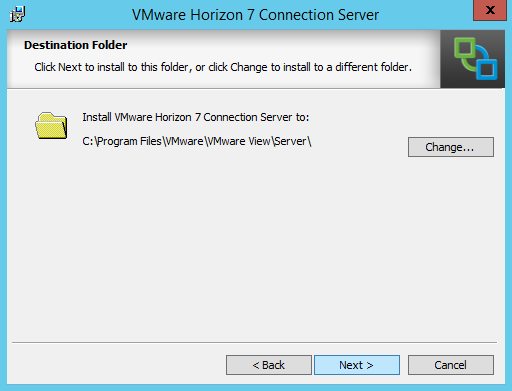 Horizon 7 0 Part 8 – Installing The First Connection Server | The