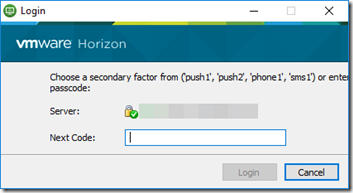 Configuring Duo Security MFA for Horizon Unified Access