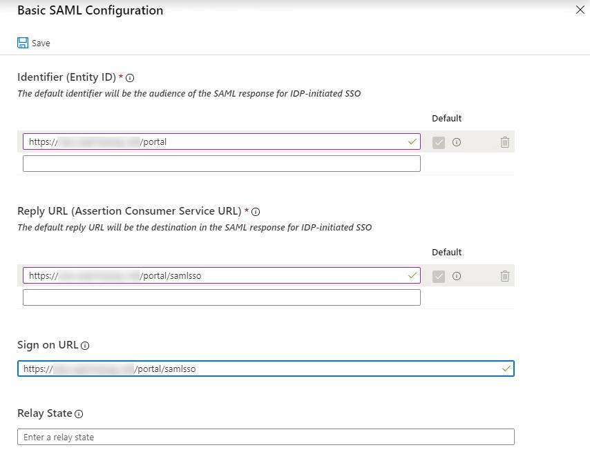 9. Basic SAML Configuration URLS
