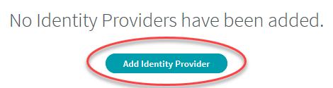 3. Add Identity Providers