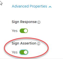 7. Sign Assertion