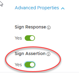7. Sign Assertion